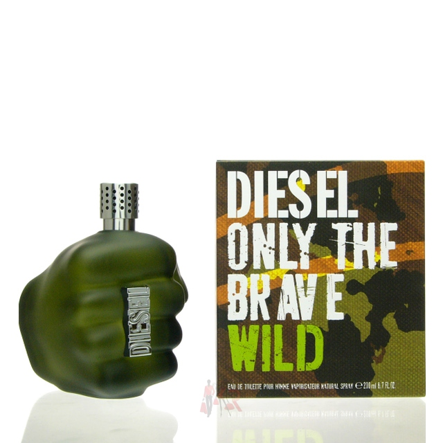 diesel only the brave wild eau de toilette 200 ml. Black Bedroom Furniture Sets. Home Design Ideas
