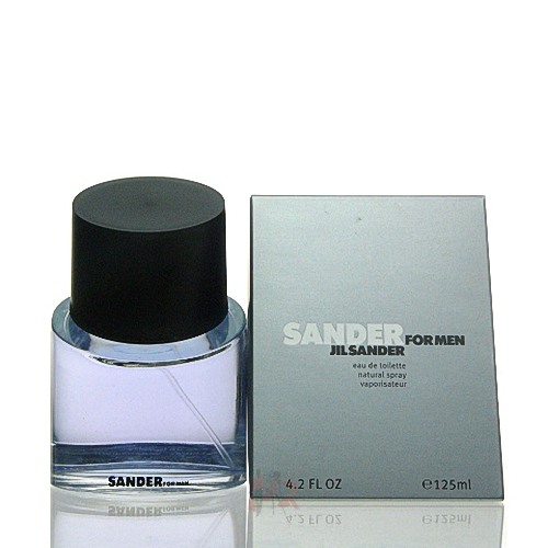 jil sander sander for men eau de toilette 125 ml. Black Bedroom Furniture Sets. Home Design Ideas