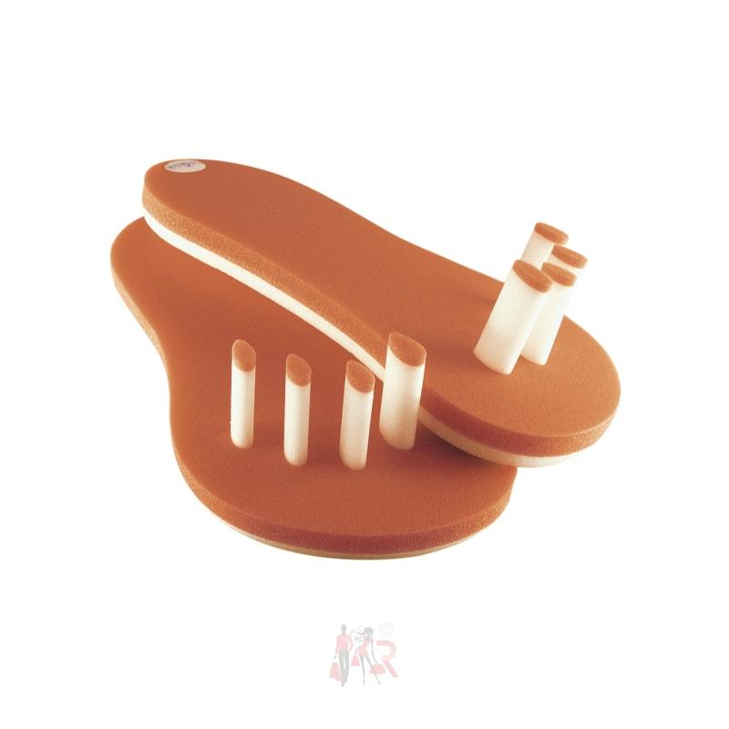 Apodis Cosmetics Pediquick Zehenspreizer Größe 36-41 Orange