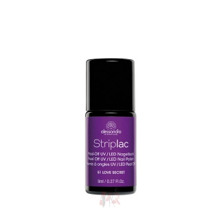 Alessandro Nagellack Striplac 51 Love Secret 8 ml