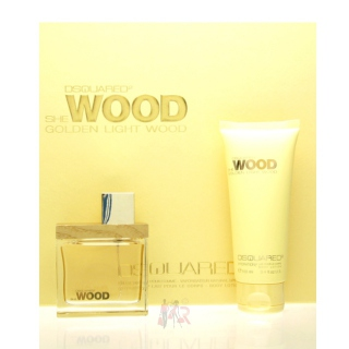 Dsquared Golden Light Wood Set - Eau de Parfum 50ml + BL 100ml