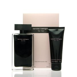 Narciso Rodriguez For Her SET - EDT 100 ml + BC 75 ml