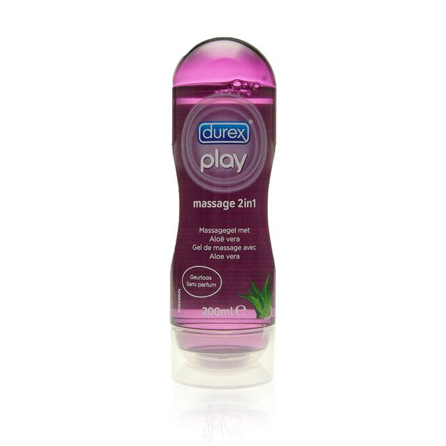 Durex Play Massage 2 in 1 Massagegel mit Aloe Vera 200ml