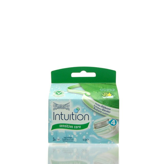 Wilkinson Intuition Naturals Sensitive Care 3x Ersatzklingen