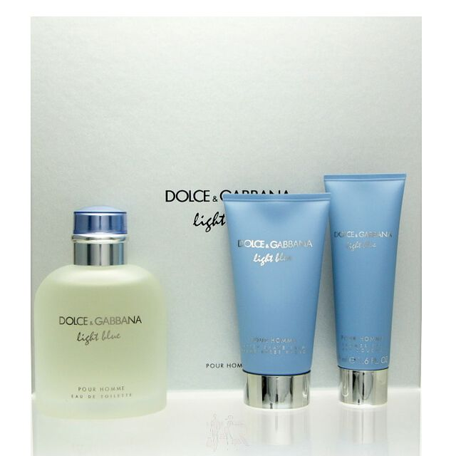 Dolce   Gabbana Light Blue pour Homme Set - EDT 125 ml + AS 75 ml + ... 1b6db5a901e9