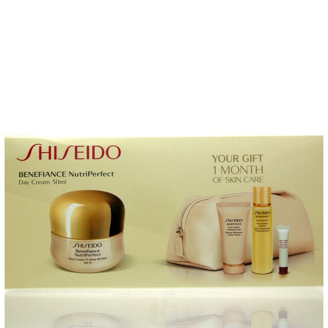 Shiseido Benefiance Nutriperfect Set - DC 50 ml + CF 50 ml + PS 75 ml + PIC 5 ml