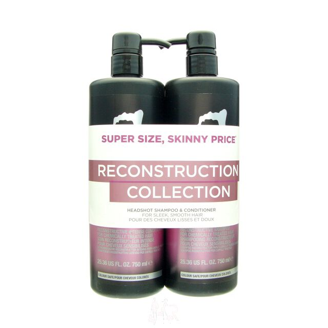 Tigi Catwalk Headshot Reconstructive Set - Shampoo 750 ml + Conditioner 750 ml