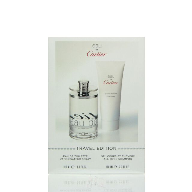 Cartier Eau de Cartier Set - Eau de Toilette 50 ml + DG...