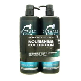 Tigi Catwalk Oatmeal & Honey Set - Shampoo 750 ml +...
