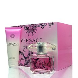 Versace Bright Crystal  SET - EDT 90 ml + BL 100 ml + Tasche