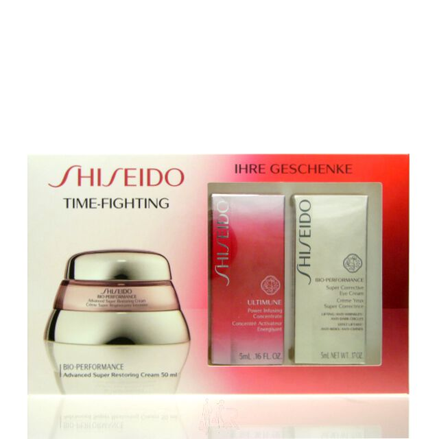 Shiseido Bio-Performance Time-Fighting Set - RC 50 ml + PIC 5 ml + EC 5 ml