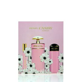 Prada Candy Florale Set - EDT 80 ml + SG 75 ml + EDT 10 ml