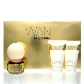 Dsquared² Want SET - Eau de Parfum 30 ml + BL 2 x 30 ml