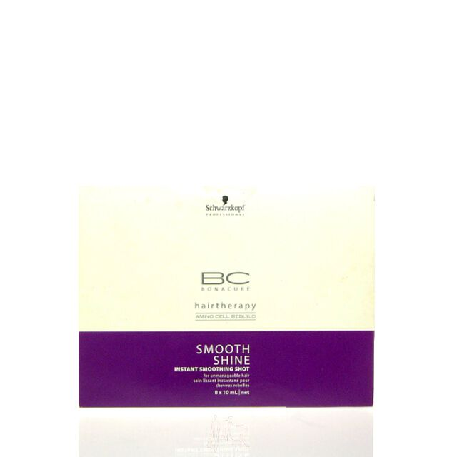 Schwarzkopf BC Bonacure Smooth Shine Instant Smoothing Shot 8 x10ml
