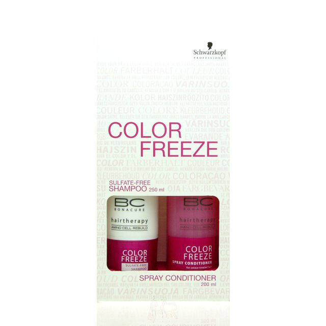 Schwarzkopf BC Bonacure Color Freeze Set (Shampoo + Conditioner)