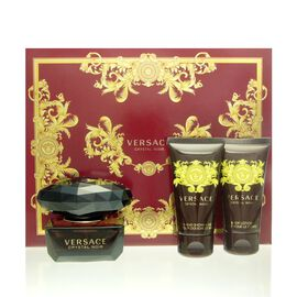 Versace Crystal Noir Set - EDT 50 ml + BL 50 ml + SG 50 ml
