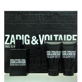 Zadig & Voltaire This is Him Set - EDT 50 ml + 2x SG 50 ml