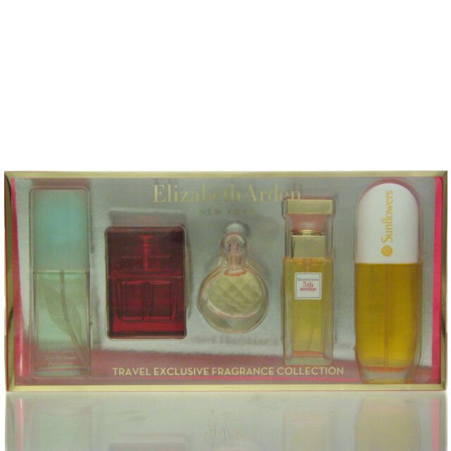 Elizabeth Arden Travel Exclusive Fragrance Set - GTS 15 ml + RD 10 ml + UT 5 ml + 5A 10 ml + SF 15 ml