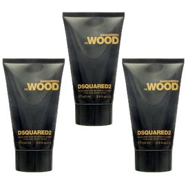 3x Dsquared² He Wood Hair and Body Wash 100 ml = 300 ml