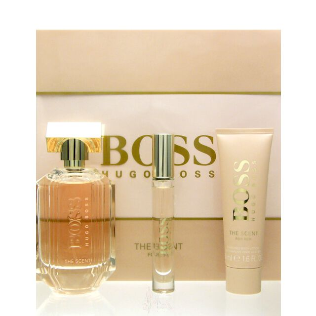 Hugo Boss The Scent for Her Set - EDP 100 ml + BL 50 ml + EDP 7,4 ml