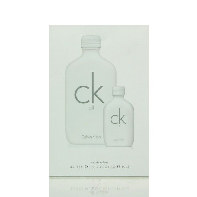 Calvin Klein CK All Set - Eau de Toilette 100 ml + EDT 15 ml