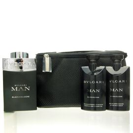 Bvlgari Man Black Cologne Set - EDT 100 ml + ASB 75 ml +...