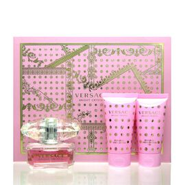 Versace Bright Crystal Set - EDT 50 ml + BL 50 ml + SG 50 ml