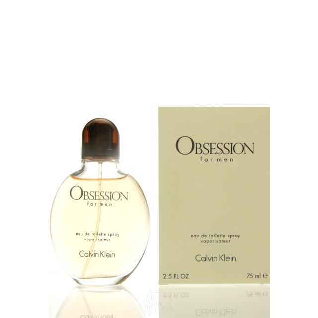 Calvin Klein Obsession for Men Eau de Toilette Spray 75 ml