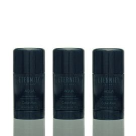 3x Calvin Klein Eternity Aqua for Men Deodorant Stick 75...