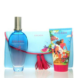 Escada Sorbetto Rosso Set - EDT 100 ml + BL 50 ml + Tasche