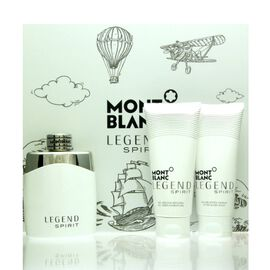 Mont Blanc Legend Spirit Set - EDT 100 ml + ASB 100 ml +...