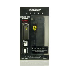 Scuderia Ferrari Black Set - Eau de Toilette 2 x 25 ml +...