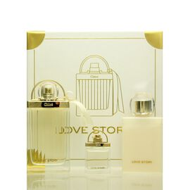 Chloe Love Story Set - EDP 75 ml + BL 100 ml + EDP 7,5 ml