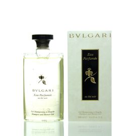 Bvlgari Eau Parfumée Au The Noir Shampoo & Shower Gel 200 ml