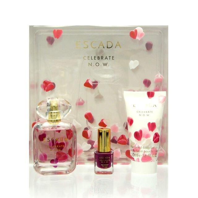 Escada Celebrate N.O.W. Set - EDP 30 ml + BL 50 ml + NP 4,5 ml