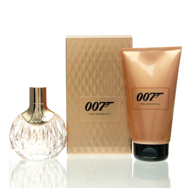 James Bond 007 for Women II Set - EDP 50 ml + BL 150 ml