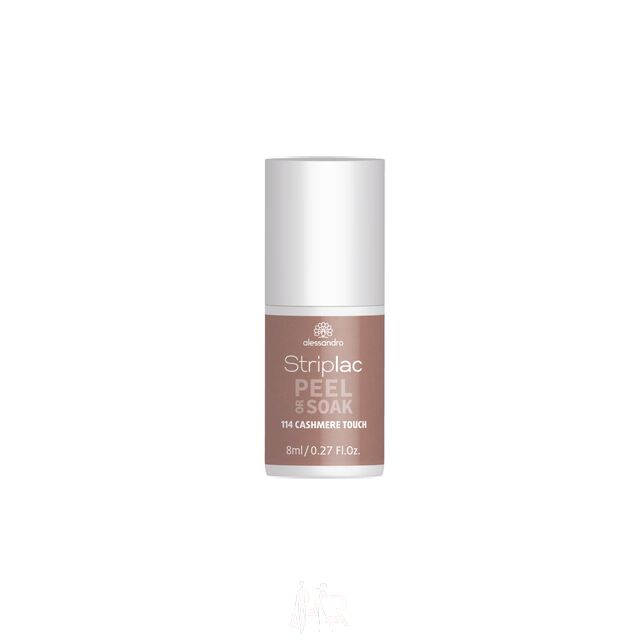Alessandro Striplac Peel or Soak 114 Cashmere Touch 8 ml