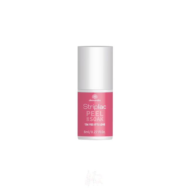 Alessandro Striplac Peel or Soak 136 Yes its love 8 ml
