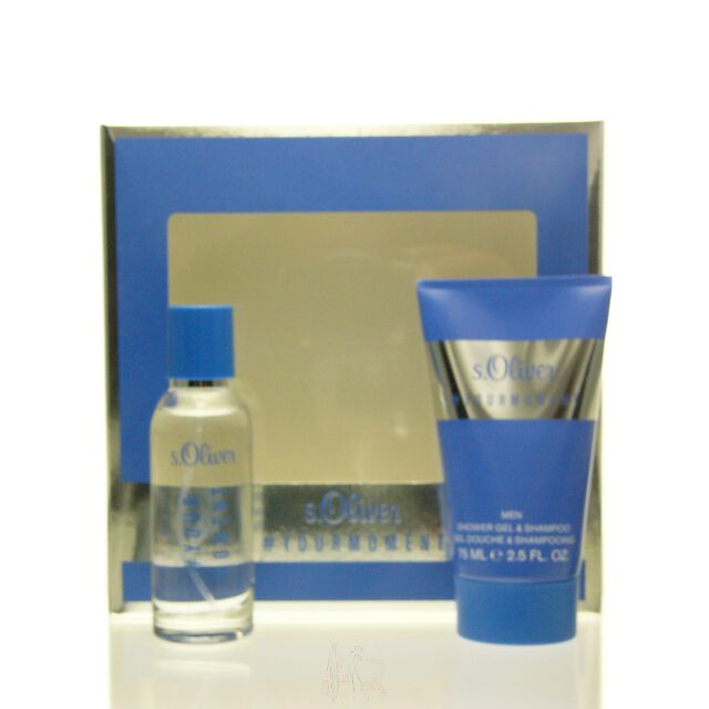 S.Oliver Your Moment Men Set - EDT 30 ml + SG 75 ml