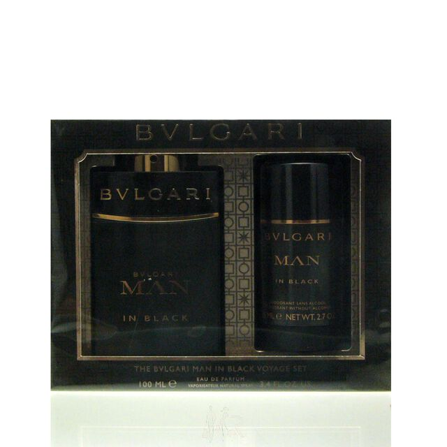 Bvlgari Man in Black Set - Eau de Parfum 100 ml + DS 75 ml