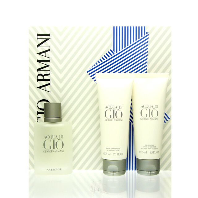 Giorgio Armani Acqua di Gio Homme Set - EDT 50 ml + AS 75 ml + SG 75 ml