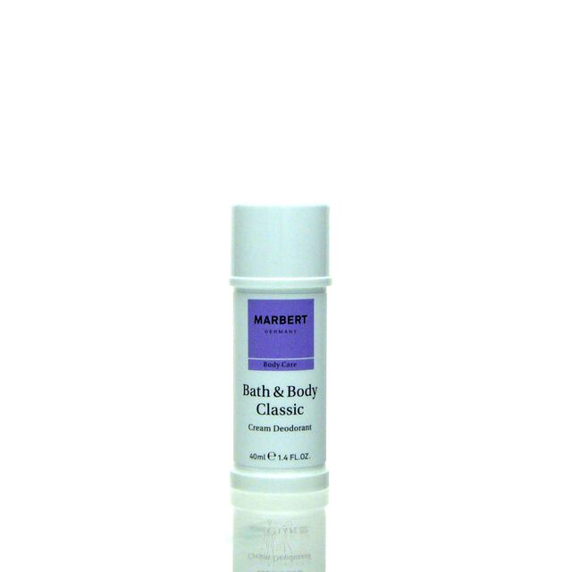 Marbert Bath & Body Classic Deodorant Deo Cream 40 ml