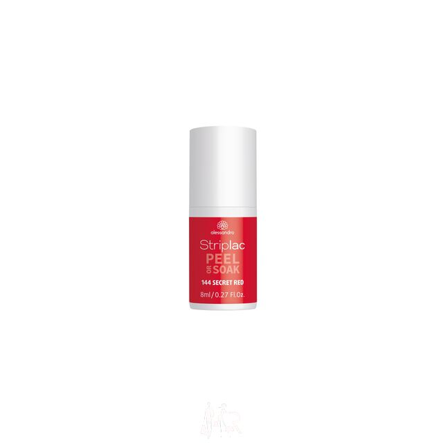Alessandro Striplac Peel or Soak 144 Secret Red 8 ml