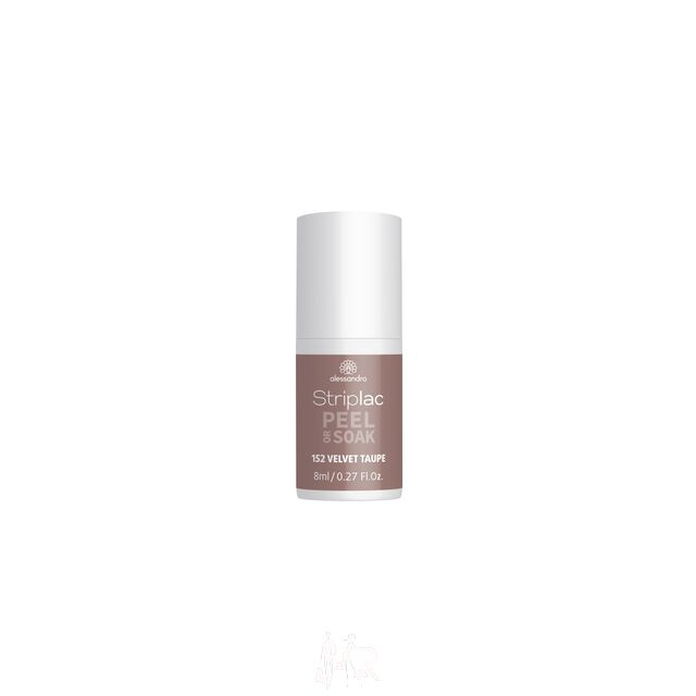 Alessandro Striplac Peel or Soak 152 Velvet Taupe 8 ml