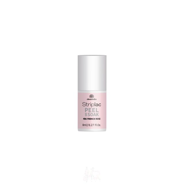 Alessandro Striplac Peel or Soak 486 French Rose 8 ml