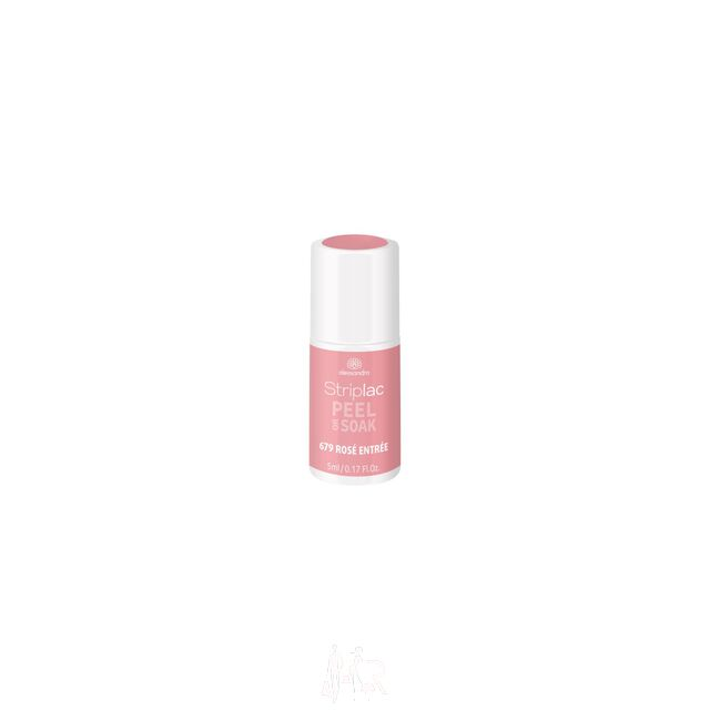Alessandro Striplac Peel or Soak 679 Rose Entree 5 ml