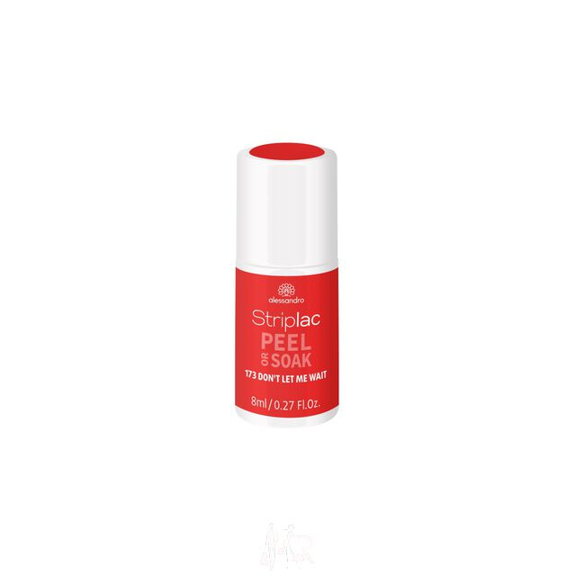 Alessandro Striplac Peel or Soak 173 Don't let me wait 8 ml