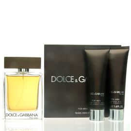 Dolce & Gabbana D&G The One for Men SET- EDT 100 ml + AS...