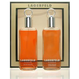 Lagerfeld Classic SET - Eau de Toilette 125 ml + Aftershave 125 ml