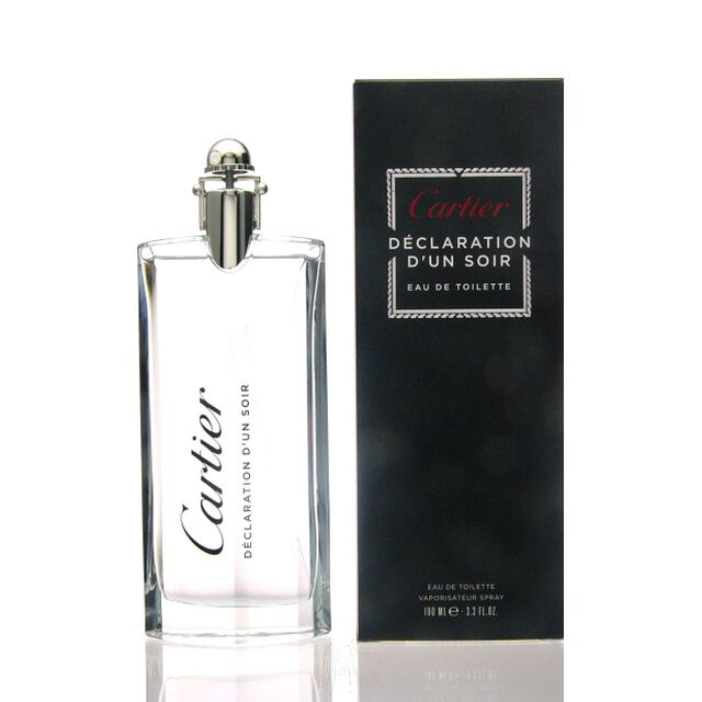 cartier declaration d un soir eau de toilette 100 ml redzilla. Black Bedroom Furniture Sets. Home Design Ideas